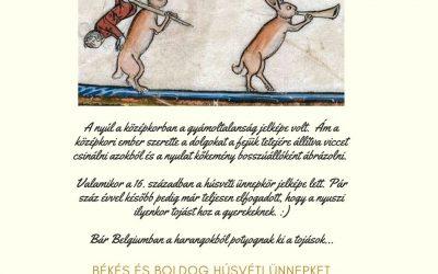 Vérnyúl és társai a középkorban. Avagy a nyúl alakváltozásai.
